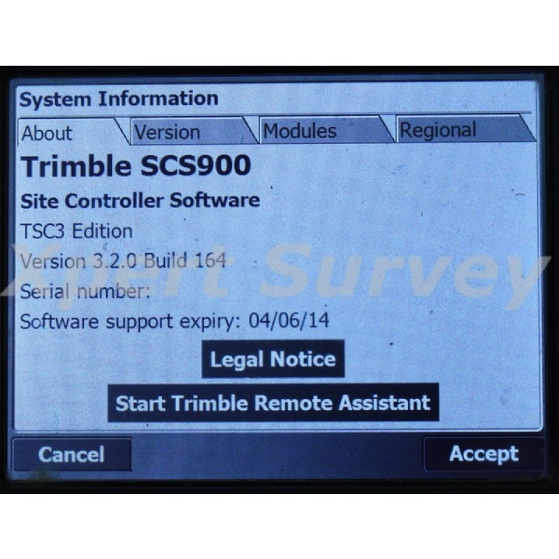 Trimble Tsc3 Field Controller Data Collector W Scs900