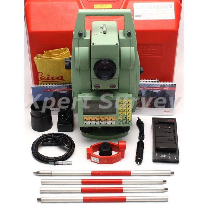 leica tcra1105 plus 5 motorized auto target tps1100 series total rh xpertsurveyequipment com leica tcra1105 user manual