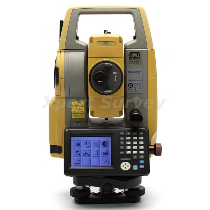 Topcon DS-103AC Total Station w/ Tesla Controller