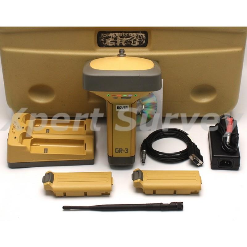 topcon gr 3 gps glonass l1 l2 rtk base or rover spread spectrum receiver. Black Bedroom Furniture Sets. Home Design Ideas