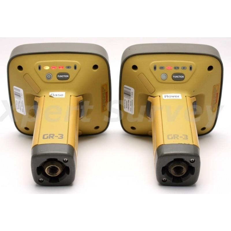 topcon gr 3 gps glonass base rover digital uhf receiver set w fc 120 controller. Black Bedroom Furniture Sets. Home Design Ideas