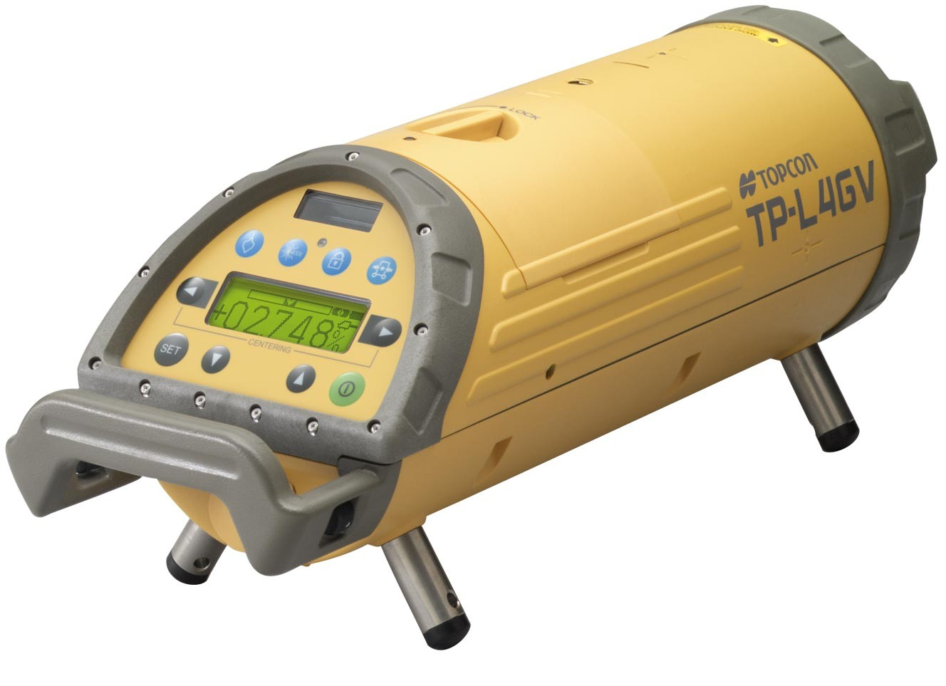 Topcon Tp L4gv Green Beam Pipe Laser