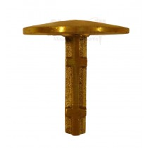 "Sokkia 813413 2"" Brass Dome Top Survey Marker"