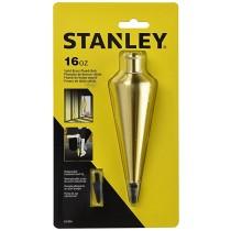 Stanley 16 oz. Brass Plumb Bob 47-974