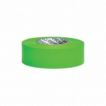 "Presco Products TFG-188 Green 1-3/16"" x 300 ft. Taffeta Surveyor Flagging Tape"
