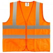 2X-Large Fluorescent Orange Class 2 Safety Vest