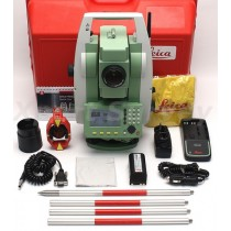 "Leica FlexLine TS06 Plus 5"" R500 Reflectorless Total Station"
