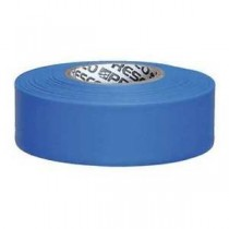 "Presco Products TFB-188 Blue 1-3/16"" x 300 ft. Taffeta Surveyor Flagging Tape"