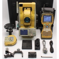 "Topcon GPT-9003A 3"" Robotic Total Station w/ FC-2500 Data Collector RS-1"