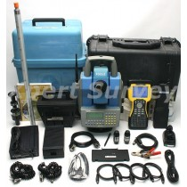 "Trimble Focus 10 5"" Robotic Total Station w/ TDS Ranger Controller"