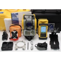 "Trimble TS635 5"" Mechanical Total Station w/ Nomad Field Controller"