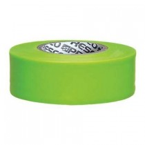 "Presco Products TFLG-188 Glo Lime 1-3/16"" x 150 ft. Taffeta Surveyor Flagging Tape"