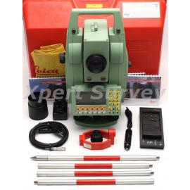 "Leica TCRA1105 Plus 5"" Motorized Auto Target Extended Range TPS1100 Series Total Station"