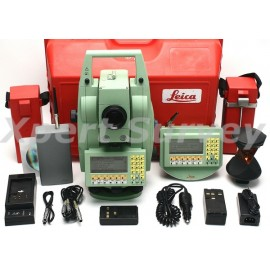 "Leica TCRA1105 Plus 5"" Robotic Total Station"