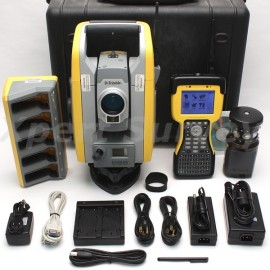 "Trimble S6 DR Plus + 3"" Robotic Total Station w/ TSC2 2.4GHz Data Collector"