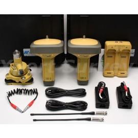 Topcon GR-3 GPS GLONASS RTK 410-470 MHz Digital UHF Base & Rover Set