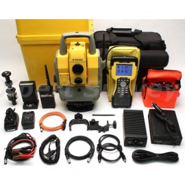 "Trimble 5603 3"" Robotic 2.4 GHz Total Station w/ TSC2 & GeoRadio 600"