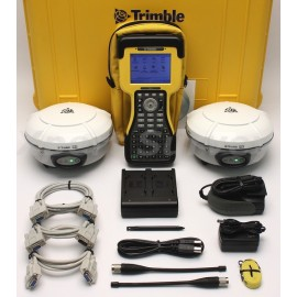 Trimble R8 Model 3 Base & Rover 410-430 MHz Receiver Set w/ TSC2 Controller
