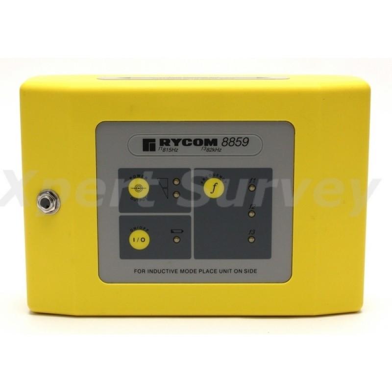 Rycom 8856 Locator 8859 Transmitter Pipe Fault Locator