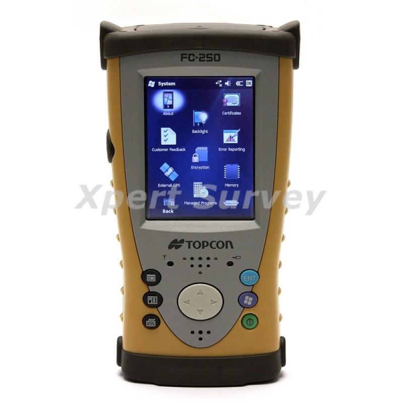 Topcon Fc 250 Field Controller Xpert Survey Equipment