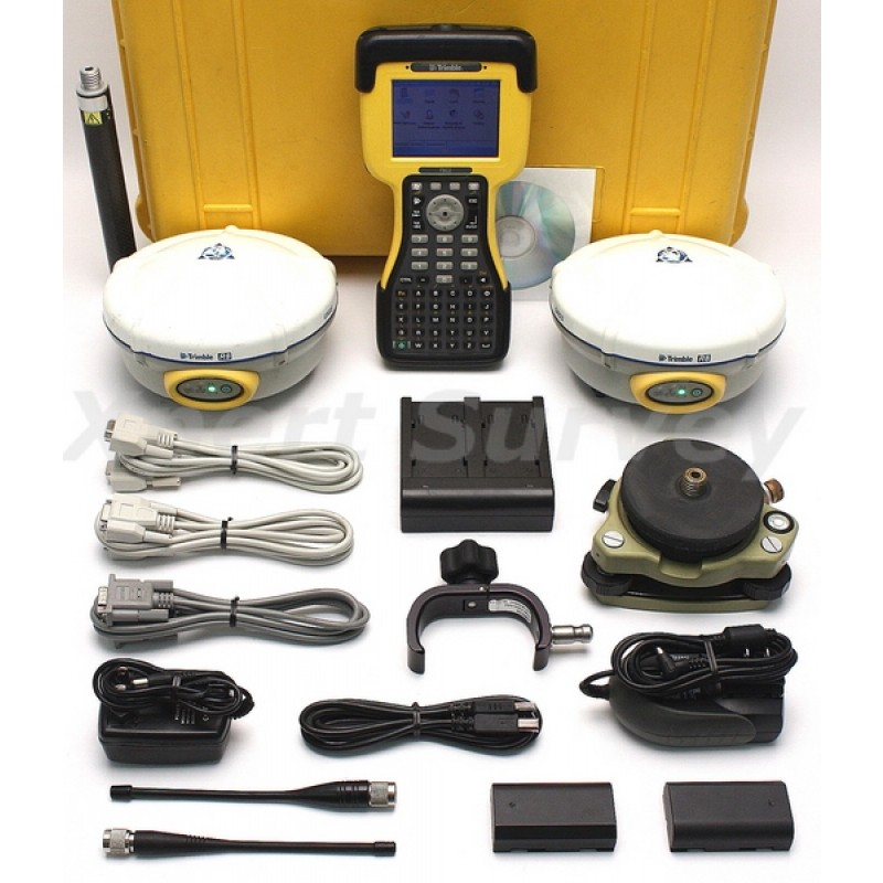 Trimble R8 Model 2 GPS GLONASS Base & Rover Kit w/ TSC2 Controller