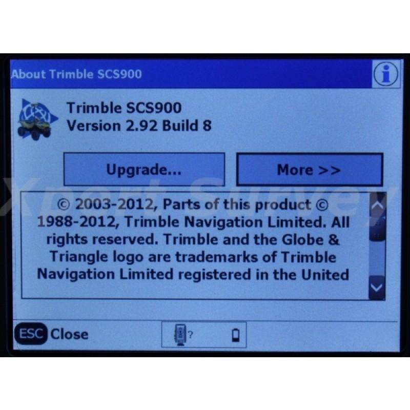 Trimble TSC3 2 4 GHz Field Controller w/ SCS900