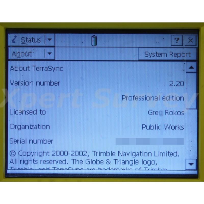 Trimble GPS Pathfinder Pro XR Receiver & Antenna System w/ TSCe Controller