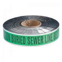 Green Foil Tape Stock Photo