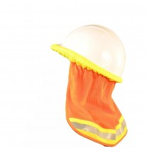 Hard Hat with neck Shade stock photo
