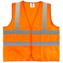 X-Large Fluorescent Orange Class 2 Safety Vest