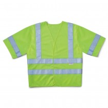 2X-Large Fluorescent Yellow / Green Class 3 Safety Vest