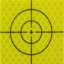 (20/pack) 40 x 40 mm Yellow Total Station Targets