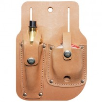 Reel Leather sheath