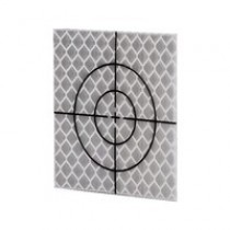 (20/pack) 40 x 40 mm Silver Total Station Targets