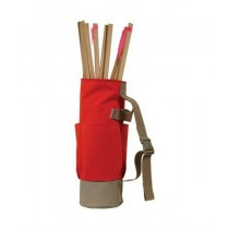 Lath stake bag stock photo