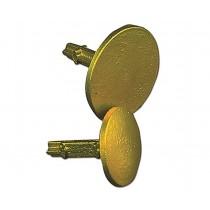 "Sokkia 813403 2"" Brass Flat Top Survey Marker"