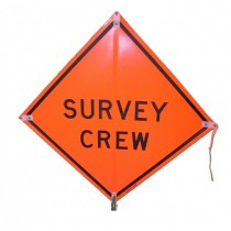 Survey Crew Signs Traffic Signs Safety Equipment