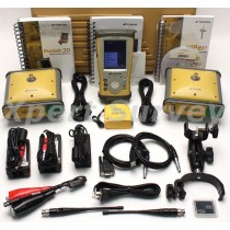 Topcon Hiper Gb GPS Base & Rover RTK 410-470 Mhz w/ FC-200 Data Collector