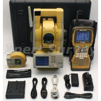"Topcon GPT-9003A 3"" Robotic Total Station w/ FC-2500 2.4GHz Data Collector"
