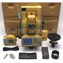 "Topcon GPT-9003A 3"" Robotic Total Station w/ RC-3R Controller & A7 Prism"