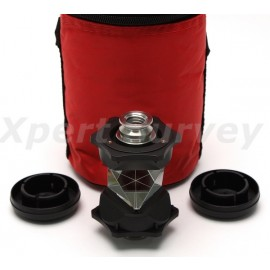 "360 Degree Topcon Style Robotic Total Station Prism w/ Dual 5/8"" x 11 Female Thread Mounts"