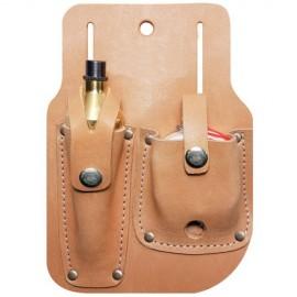Reel Leather sheath