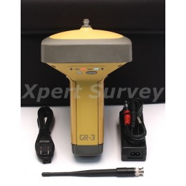 Topcon GR-3 GPS GLONASS Base Or Rover 410 - 470 MHz Digital UHF Receiver