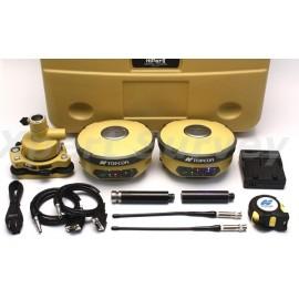 Topcon Hiper II GPS GLONASS 410-470 MHz Base & Rover Receiver Set