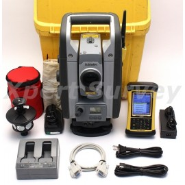 "Trimble RTS555 5"" DR 2.4 GHz Robotic Total Station w/ Nomad Controller"