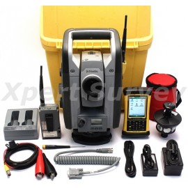 "Trimble RTS555 5"" DR Std 2.4 GHz Robotic Total Station w/ Nomad Controller"