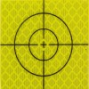 Yellow Total Station Target Stock Photo